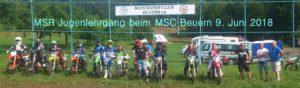 MSR Jugendlehrgang